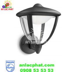 Đèn sân vườn Philips 15470 màu đen sử dụng bóng LED 4,5W