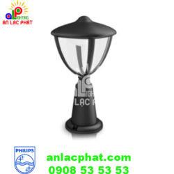 Đèn sân vườn Philips 15472 màu đen sử dụng bóng LED 4,5W