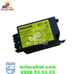 Kích đèn cao áp Philips SN 58 T15 dùng với tăng phô BSN 100-400W