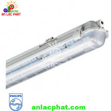 Bộ đèn chống ẩm chống thấm Philips liền máng Led TCW060 T8 0m6 1x18W