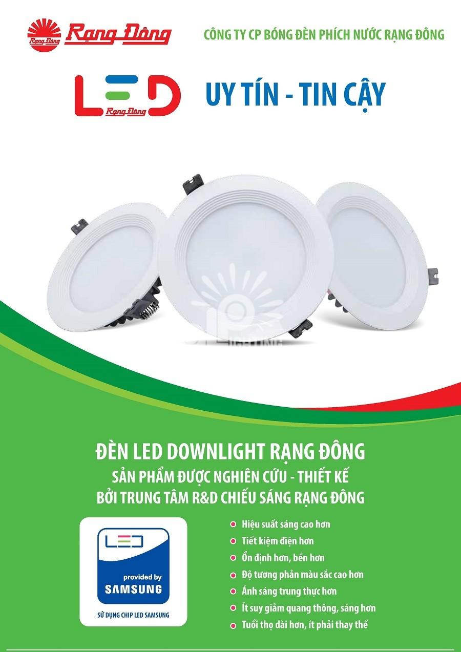 Rạng Đông - Đơn vị hàng đầu trong ngành thiết bị chiếu sáng và thiết bị điện
