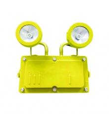 Đèn khẩn cấp chống cháy nổ Duhal KCN0082 màu vàng lưu điện 2 giờ