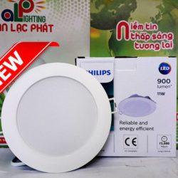 Đèn led downlight DN020B G2 Philips 6W giảm chói giá tốt