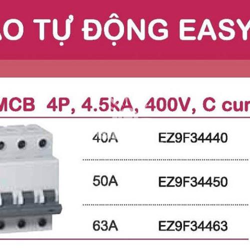 Aptomat Schneider MCB schneider Easy9 4 pha