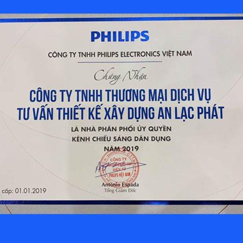 Giấy Chứng Nhận Philips 2019