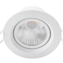 Đèn spotlight Philips 2.7W SL201 lỗ cắt 70 thay đổi góc chiếu linh hoạt theo 1 trục