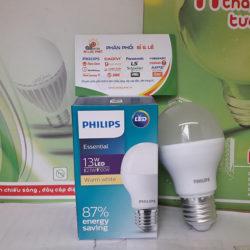 Đèn led bulb Philips 13W E27 Essential G4 chất lượng ánh sáng cao giá rẻ
