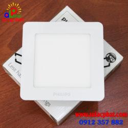 Bộ đèn downlight VUÔNG LED DN024B LED12 D150 SQR Philips