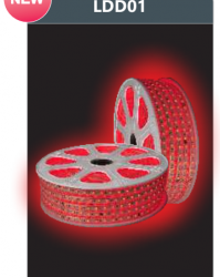 Đèn LED Dây Cao Áp Ánh Sáng Đỏ LDD01 6W Duhal