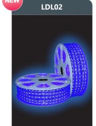 Đèn LED Dây Cao Áp Ánh Sáng Xanh Lam LDL02 6W Duhal