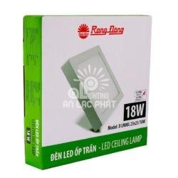 Đèn LED Ốp Trần DLN08L23x23/18W Rạng Đông