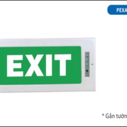 Đèn Thoát Hiểm Exit PEXA13RW Paragon dùng bóng Led